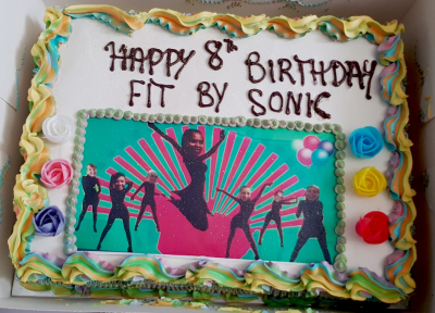 Fit by Sonic 8th Birthday